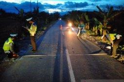 Kecelakaan tragis di Toili,  kepala korban terpenggal dilindas truk
