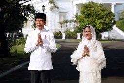 Jokowi akan Shalat Id di Istana Bogor