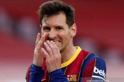 Messi belum sepakati perpanjangan kontrak dengan Barcelona