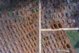 Tingkat keterisian lahan TPU Kota Palembang mendekati 90 persen