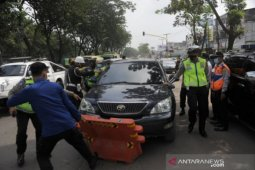 3.234 kendaraan putar balik selama larangan  mudik di Palembang