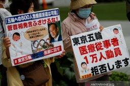 Banyak perusahaan Jepang mendpukung Olimpiade dibatalkan atau ditunda