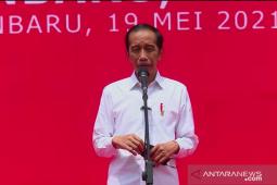 Presiden Jokowi : Tantangan di ruang digital semakin besar, perlu konten positif