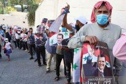 Bashar al-Assad menangi jabatan ke-4  presiden Suriah, raih 95% suara