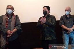 Erick Thohir ingin Telkom dan Telkomsel jadi agregator film Indonesia