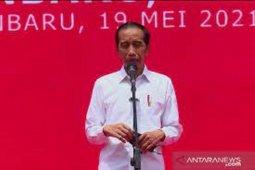 Jokowi: Pemerintah targetkan ekonomi tumbuh 7 persen pada kuartal II 2021