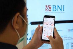 "BNI mencatat peningkatan transaksi 50 persen gunakan ""mobile banking"""
