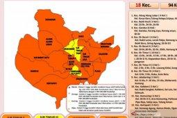Dinkes: Tidak ada lagi kecamatan zona merah  COVID-19 di Palembang
