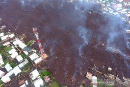 Sekitar 20.000 orang kehilangan rumah akibat letusan gunung di Kongo