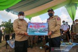 Kemensos bentuk dua Kampung Siaga Bencana di Tulang Bawang Barat
