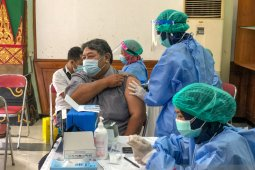 Pemkot Yogyakarta mulai vaksinasi warga pra-lansia berusia di atas 50 tahun