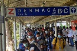 Tiba dari Malaysia, 521 pekerja migran Indonesia di karantina di Batam