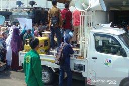 Masyarakat miskin Palembang gelar aksi dukungan ke KPK