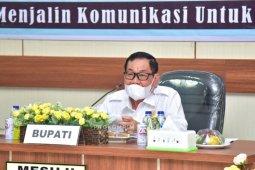 Bupati Mesuji pimpin diskusi tentang penanganan COVID-19