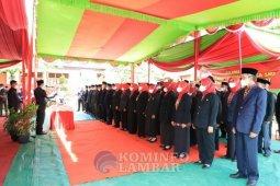 Bupati Lampung Barat lantik 63 kepala sekolah