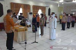 Bupati Barito Selatan lantik 47 pejabat eselon dan direktur perusda