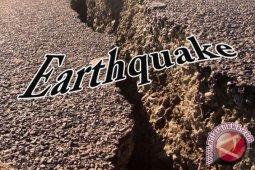 Gempa magnitudo 5,4 guncang barat daya Ternate-Malut
