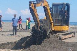 PUPR Mataram berhasil menurunkan volume genangan air Taman Loang Baloq
