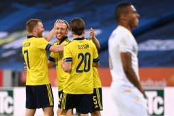 Pemanasan terakhir jelang Euro, Swedia hantam Armenia 3-1