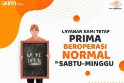 PT Pos Indonesia membuka layanan tujuh hari seminggu
