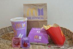 McD tutup layanan di aplikasi pesan antar saat peluncuran BTS Meals