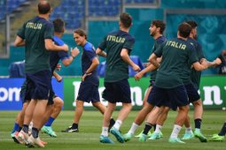 Pratinjau Euro 2020 - Dominasi bola Italia vs disiplin bertahan ala Turki