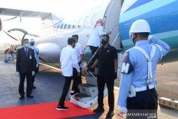Presiden Jokowi ke Jateng tinjau infrastruktur dan vaksinasi massal