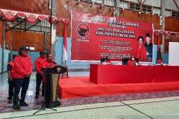Rakercab DPC PDI Perjuangan Puncak Jaya hasilkan enam poin rekomendasi