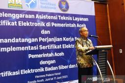 BSSN sudah jalin kerjasama sertifikat elektronik dengan 318 instansi di Indonesia thumbnail