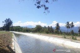 Ketersediaan irigasi di Parimo  masih memadai dukung kegiatan pertanian