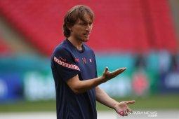 Euro 2020 - Luka Modric akui sulit bagi Kroasia capai final