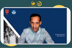 Mendikbudristek Nadiem Makarim: Pendidikan tinggi penting agar tidak tertinggal zaman