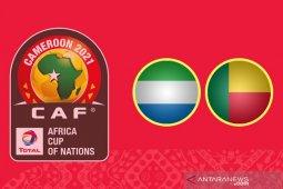 Sierra Leone vs Benin di kualifikasi Piala Afrika ditunda karena COVID-19