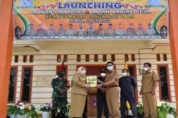 Bupati Kobar resmikan layanan mandiri dan lapak online bagi desa