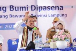 Menteri KKP : Revitalisasi solusi tingkatkan produktivitas tambak udang Dipasena