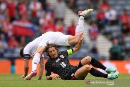 Ceko lawan Kroasia imbang 1-1