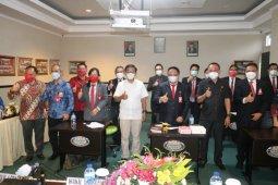 Belasan pejabat pemerintah kota mengikuti seleksi Sekdakot Tomohon