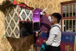 Petugas Lapas Rajabasa temukan ponsel dan gunting saat razia blok warga binaan