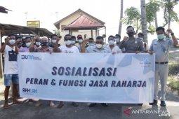 Jasa Raharja mengedukasi operator kapal cepat di Lombok Utara