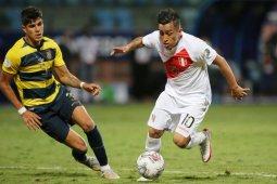 Sempat tertinggal, Peru menahan imbang Ekuador 2-2