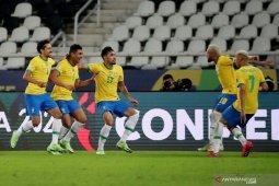 Copa America, gol penghujung Casemiro pastikan Brazil menang 2-1 atas Kolombia thumbnail
