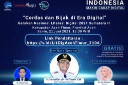 Tingkatkan pemahaman digitalisasi, Kominfo gelar literasi digital di Aceh Timur thumbnail