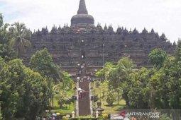 Penutupan zona I Candi Borobudur