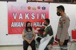 Polres Kepulauan Sangihe gelar vaksinasi massal