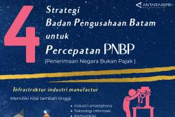 Infografik: 4 strategi BP Batam untuk percepatan PNBP