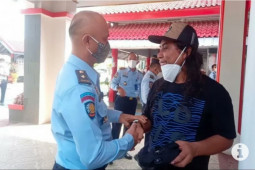 Kemarin, Narapidana teroris asal Poso hirup udara bebas dari LP Metro
