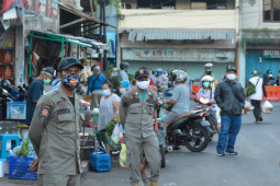 Yogyakarta mengantisipasi kerumunan di luberan pedagang pasar tradisional