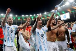 Kalahkan Brasil 1-0, Argentina juara Copa America 2021