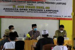 Anggota DPRD Lampung ajak masyarakat dukung PPKM Darurat