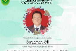 Hakim anggota kasus Rizieq Shihab meninggal